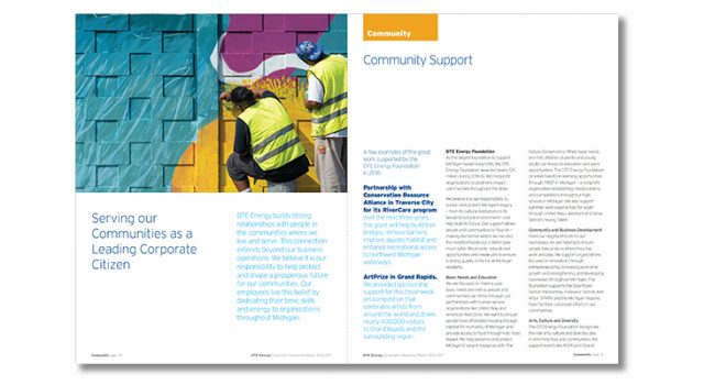 2016-2017 DTE Energy Corporate Citizenship Report