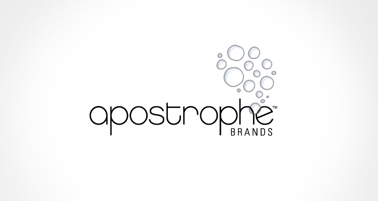 Brand identity design for Apostrophe Brands